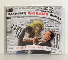 IRON MAIDEN - BE QUICK OR BE DEAD (CD MAXI-SINGLE) NETHERLANDS - EMI 1992