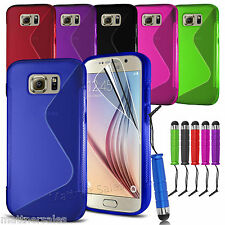 New Soft Gel S Case Cover for Samsung Galaxy S3 S4 S5 S6 S6 Edge S7 S7 Edge