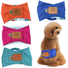 S-XL Puppy/Large Dog Shortpants Sanitary Underpants For Female Washable Diaper