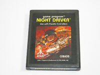 Night Driver (Atari 2600, 1978) FREE SHIP