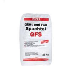 (1,06€/ Kg)Pufas Glätt- und Füllspachtel 25kg Gipsspachtelmasse für innen