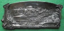 c1900 WMF Art Nouveau Classical Greek Accropolis Athens Pewter Card Tray