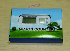 KT-401 Air Ion Tester Meter Counter -Ve Negative Ions With Peak Maximum Hold