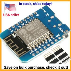 D1 mini NodeMCU Lua WIFI IoT development board based ESP8266 CH340 module