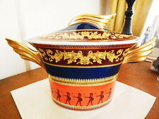 VERSACE China Rosenthal Germany ICONIC HEROES Soup Tureen - NEW!