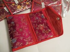 WALLET COIN PURSE SAME FABRIC BUT INDIVIDUALLY MADE ORIGINAL 8x5.5 INCHES #4