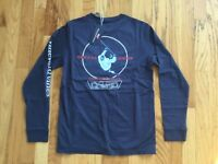 NWT Boy's LS Vineyard Vines Midline Hockey Player Whale T-Shirt Size M, L Or XL