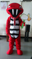 Snake Cobra Mascot Costume Cosplay Party Dress Unisex Halloween Cartoon Clothing