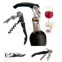 Waiters Metal Cork Screw Corkscrew Multi-Function Wine Bottle Cap Opener Knife !