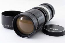 Vintage Sun Optical Sun Auto Zoom Lens F:4.8 85-210mm for SLR Excellent! ♯723-2
