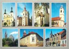 Romania Marosvasarhely Targu Mures churches multi views postcard Transylvania