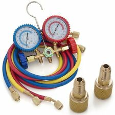R410A R22 R404A HVAC A/C Refrigeration Charging Service Manifold Gauge Set BP