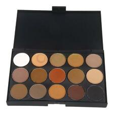 15 Color Professional Cosmetic Matte Eye Shadow Pigments Makeup Palette Matte US