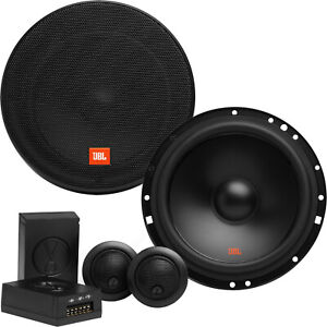 Kit Altoparlanti auto 165 mm 2Vie JBL componenti separati Woofer 16,5 cm Tweeter