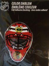 Chicago Blackhawks Licensed Full Color Aluminum Helmet Emblem
