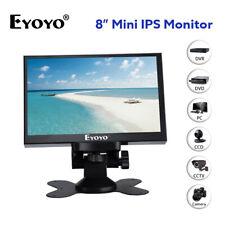 8Inch 1024x768 Resolution Monitor TFT Screen VGA BNC Video Input For Camera PC