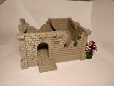 Fantasy Castle Ruins 40k Star Wars Legion Sigmar Terrain Scenery Tabletop 28mm