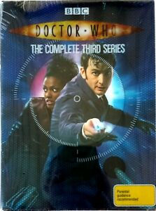 Doctor Who-Complete Third Series (2007) DVD 6-Disc Deluxe Edn-R4-Neil Tennant