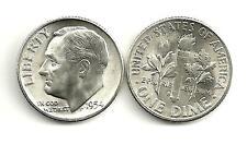 1954-S ★ Roosevelt Dime ★ 90% Silver ★ BU/UNC