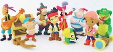 JAKE AND THE NEVER LAND PIRATES 12 Figure Set DISNEY PVC TOY Cake Topper SKULLY!