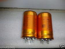 1piece NEW ROE GOLD 220uF 450V AUDIO GRADE HI-END CAPACITOR - SOFT NICE SOUND !