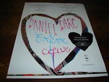DANIEL DARC - PUBLICITE CREVE COEUR !!!!!!!!!!!!!