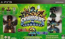 Skylanders SWAP FORCE STARTER PACK - Ps3 PlayStation 3 - Nuovo-Sigillato