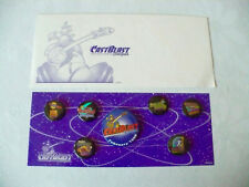Disneyland Cast Blast New Tomorrowland Button Set 1998  +  Free Shipping