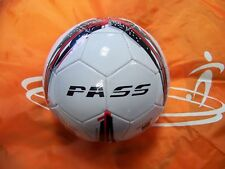 5 Ct - Size 5, (Black & Red) Machine Sewn Soccer Balls. Official Size & Weight