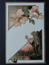 Poppy Postcard: POPPY c1907 by Raphael Tuck No.6873 - Inc Donation to R.B.L.