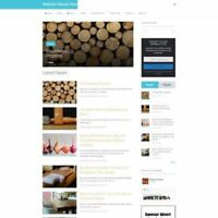 WOODCRAFT STORE - Work From Home Business Website For Sale - Affiliate Website