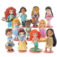 Princesses Disney lot de 11 figurines Blanche-Neige Belle Cendrillon jouet décor