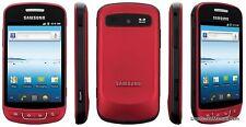 Samsung R720 ADMIRE Metallic Red Vitality CDMA Smart Phone Verizon Prepaid 3G