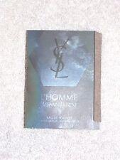 YSL Yves Saint Laurent L'HOMME Eau De Toilette Spray Sample Vial Men .05 oz New