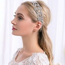 Wedding Bridal Hair Accessories Crystal Rhinestones Bride Hairbands headband