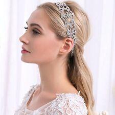 Wedding Bridal Hair Accessories Crystal Rhinestones Bride Hairbands headband
