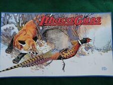 Ithaca Gun Company Advertising Poster Lynn Bogue Hunt Artist