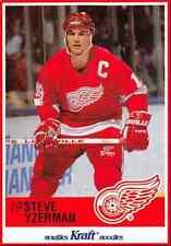 1990-91 Kraft Steve Yzerman Detroit Red Wings #63