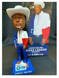 "Texas Rangers Adrian Beltre ""Straight Up Texas"" Texas Legend Bobblehead (2020)"