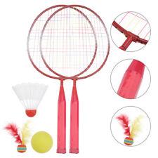 1 Pair Kids Badminton Rackets Childrens Badminton Racket Shuttlecock
