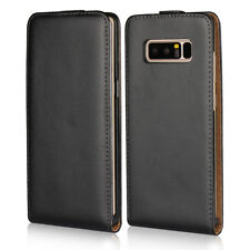 Vertical Flip Genuine Leather Shockproof Cases Covers For Samsung Galaxy Note 8