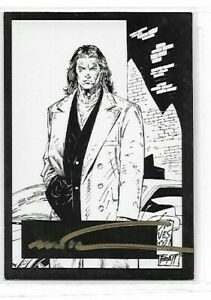 Marc Silvestri Witchblade  Darkness Family Ties Autograph Card By Top Cow cards