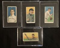 Vintage Early 1900's Tobacco Baseball Card Lot! Hughie Jennings, Chase And Pelty