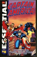 GN/TPB Essential Captain America Volume 4 nm- 9.2 Jack Kirby 1st edition (2008)
