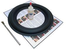 "Wide Butyl Rubber 10"" Speaker Surround Repair Kit - 1WBR10"