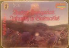 Soldatini 1/72 WWI AUSTRO-HUNGARIAN INFANTRY UN GASMASKS -  STRELETS M059