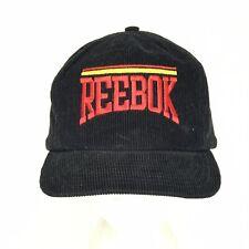 Reebok Corduroy Snapback Dad Trucker Hat Streetwear Vintage  Deadstock 80s