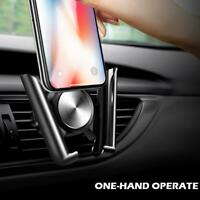 Gravity Car Dashboard  Phone Holder Air Vent Mount Stand for Mobile Phone GPS
