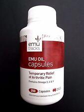 AUSTRALIA EMU TRACKS Bio-Active Emu Oil 750mg 250 capsules