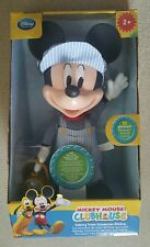 Disney Mickey Mouse Clubhouse Talking Train Conductor Mickey Doll New Sealed